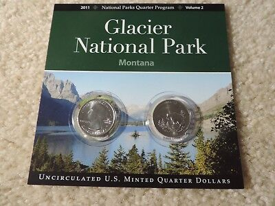 Glacier National Park Montana 2011 N.P. Quarters Program Volume 2