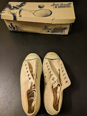 Converse Jack Purcell Vantage Mens White Ox Size 4 1972