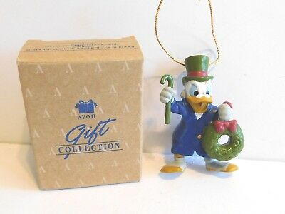 Avon Ornament 1992 Scrooge McDuck as Ebenezer Scrooge *Disney * FREE SHIPPING