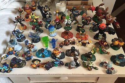 Skylanders Mixed lot of 30 + Sky Landers; Spyro Giants Swap Force Pumpkin Rare