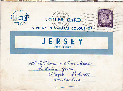 Jersey Lettercard Series 3 Used VGC