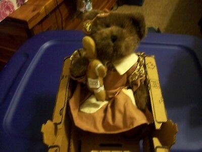 """Boyds Bears PLUSH 2002  ~10"""" KASSIE GINGERBEARY~   THE ARTISAN COLLECTION"""