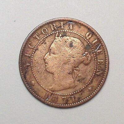 1871 Cent Prince Edward Island Canada - Errors, Affordable! Look! [Fc63]