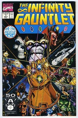Infinity Gauntlet 1 (1991) - Avengers Movie - Solid Grade - See Scans!