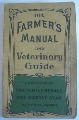 Antique_Farm Guide_Home Barn Plans_Cheese_Bees_Garden_Farm Stock_Vet Remedies_
