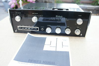 🍀 ‡ RARE TO FIND ‡ McIntosh C26 Solid State Stereo Preamplifier Preamp SERVICED