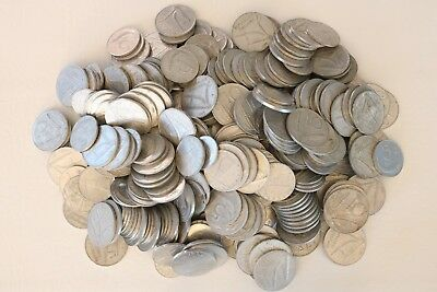 Italy 1, 2, 5, 10 Lire Aluminum 1951-1995 Coin Lot Of 364 Combined Ship D18