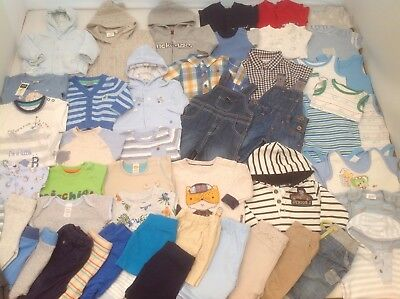 Massive Baby Boys Clothes Bundle 0-3 mths Lots of Pictures MOSTLY BRAND NEW