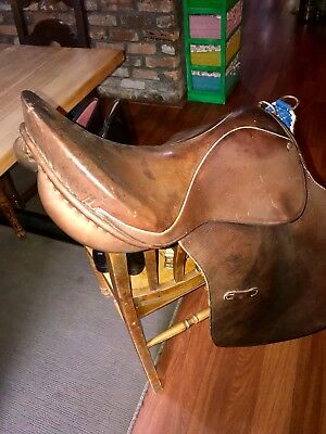 Horse Saddle. Girths. New Boots. The Lot. Very Cheap.