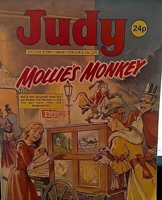 JUDY PICTURE STORY LIBRARY BOOK from the 1980's: