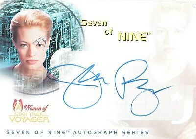 Star Trek Women Of Voyager 2001 Various Auto Promo Sketch Insert Card Choose
