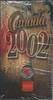 Kanada 25 Cents 2002 Colored Maple Leaf Coin 135th Anniversary Canada KM # 451a