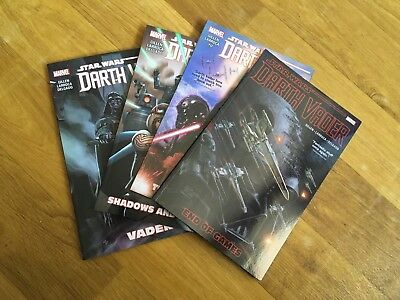 Star Wars Marvel Darth Vader Volumes 1-4 Graphic Novels