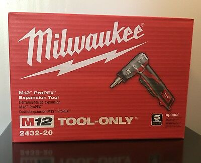 Milwaukee 2432-20 M12 ProPEX Expansion Tool (Tool Only)