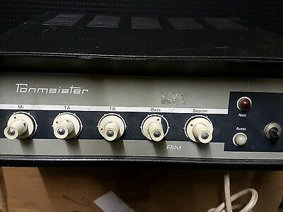 60's TONMEISTER TUBE AMP - made in Germany