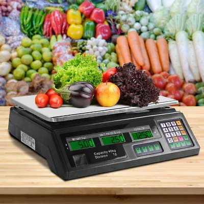 Electronic Computing Platform Digital Scale Kitchen Commercial Shop Post Postal