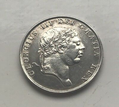 Silver 1812 George 111 / George III (one shilling & sixpence) 1s/6d Bank Token.