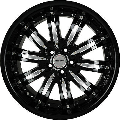 20 Touring Style Wheels Black Machined Fits Honda Accord Coupe