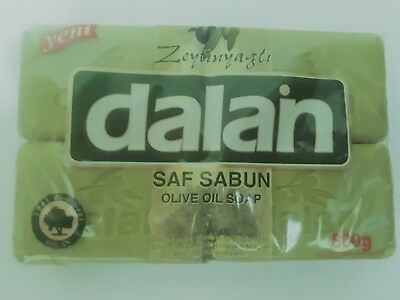 Olive Oil Soap Large - 200gram -1 Bar or 4 Pack - For younger skin and hair loss