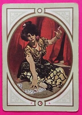 Antique Swap Playing Card WN 'Fortuna' US Congress606 Gypsy Ladies PRICE DROP 📣