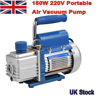 150W 220V Alloy Aluminium Casting Vacuum Pump Air Conditioning Refrigeration tgs