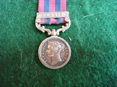 An original IGS with bar Persia miniture medal from the Victorian era.