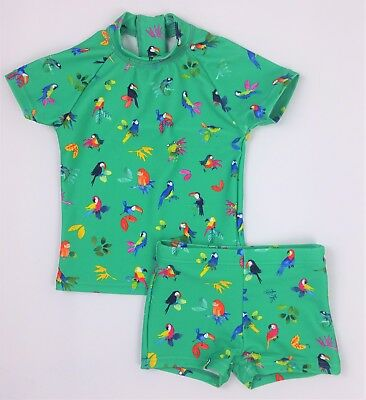 Baby Girls NEXT UV Tropical Sun Suit Swimming Suit 6-9 Mths BNWT Combine Postage
