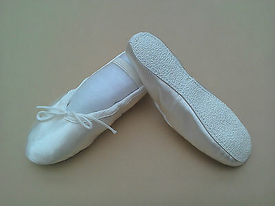 Katz Off-White/Ivory Rubber-soled Ballet shoes for Bridesmaids