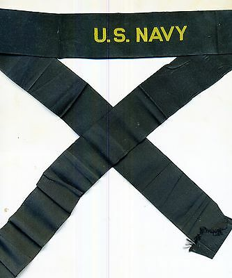 US Navy Hat Tally pre WWII