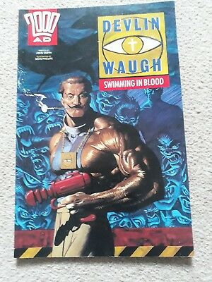 2000 AD BOOKS DEVLIN WAUGH : Swimming In Blood 1993