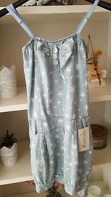 💕 Mallorca☀️ Jumpsuit / Overall 💕 10 / 140☀️ Neu 💕Jeans Sterne