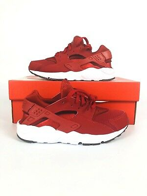 New Nike Huarache Run (Ps) Shoes  Gym Red 704949 604