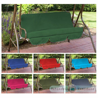 Replacement Cushions for Swing Seat Hammock Garden Pads Waterproof 2/3 Seater