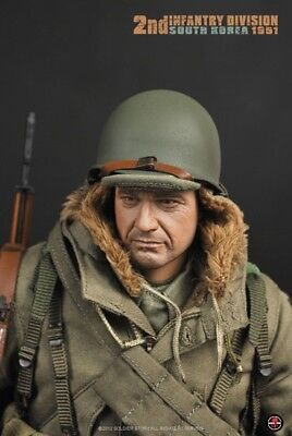 Soldier Story 1/6 scale US 2nd Infantry Division South Korea 1951 figure No WW2