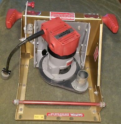 SR5 Vertical Panel Safety Speed Cut Router Carriage Base Attachment NICE