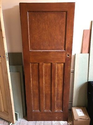 One Over Three Panel Solid Door