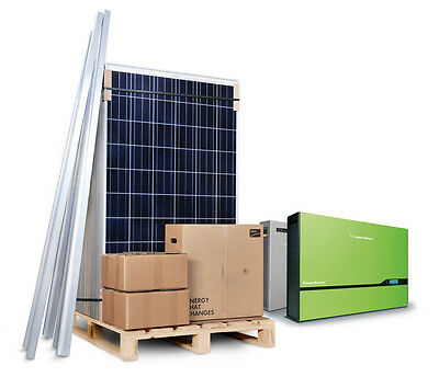 4kW 4000W Solar Panel PV Kit System for House Self Install DIY (SPAIN / PORTUGAL