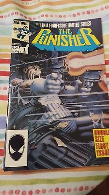 The Punisher limited series 1-5. Shipping combined on comics.