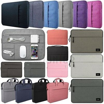 For Macbook Air 11 Pro Retina 13 15 2016 2017 2018 Soft Sleeve Laptop Case Bag