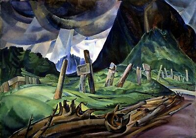 Vanquished Painting by Emily Carr Art Reproduction