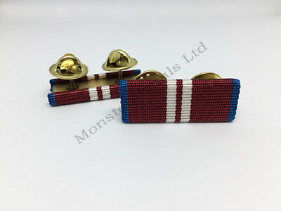 Diamond Jubilee 2012 Ribbon Bar (pin on stud)