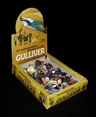 Vintage Hanna Barbera The Adventures of Gulliver Display Box with Original Art