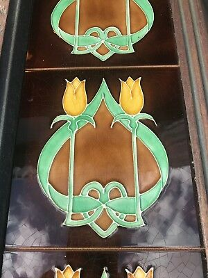 Stovax Tiled Cast Iron  Fireplace Surround