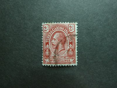 Turks and Caicos Islands 1913/21 Nr. 67 - 2 Shillings ! used ! look - ansehen!!!