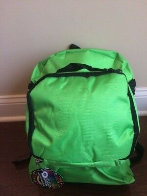 Fab Starpoint Neon Green Backpack W/matching Lunch Bag Retail $40 Nwt Free Ship!