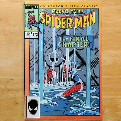 Marvel Tales #172 - Final Chapter, AMAZING SPIDER-MAN #33 Reprint 1985