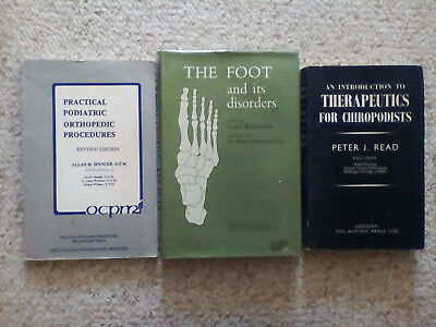 Three Essential Podiatry/Chiropody Books for the Podiatry student/Practitioner