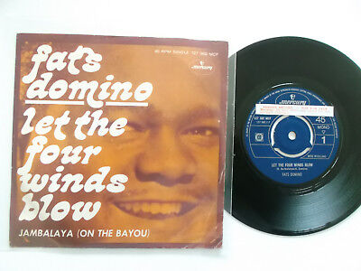 Fats Domino / Let The Four Winds Blow, Single !!!