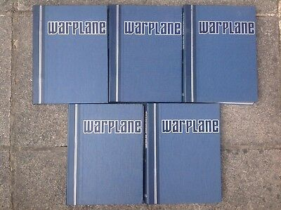 Warplane Magazine Collection (Orbis) 5 Binders 1-36, 91-98, 100-108 (53 Issues)