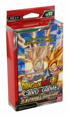 DRAGON BALL SUPER Starter Deck 02 The Extreme Evolution mazzo in Inglese ENG